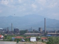 Factories of Elbasan, Albania