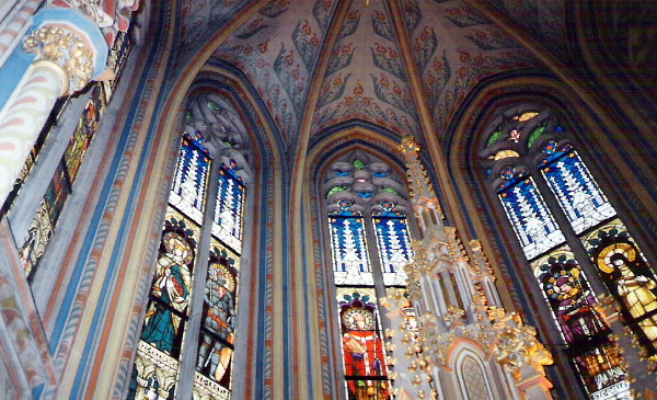 Inside of Matthias Church