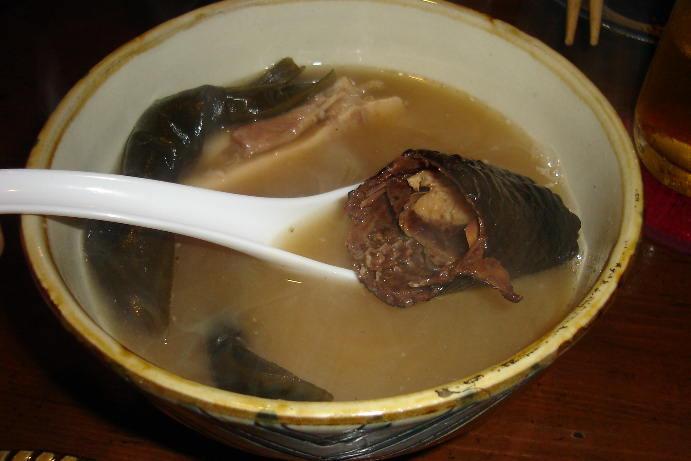 Sea snake soup