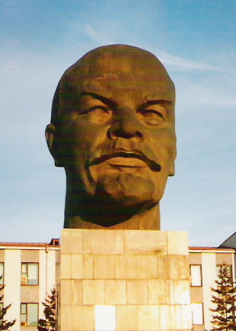 Head of Lenin