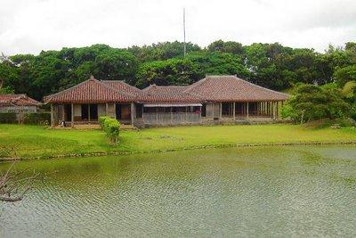 Main building in Shikina-En