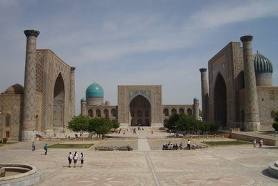 Registon Square in Samarkand