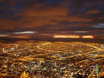 Bogota - 66sel mae otsast vaadates
