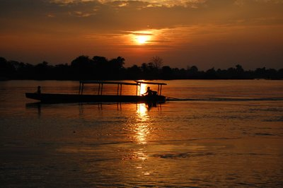 Sunset on the Mekong, Don Det
