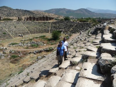 The stadium at Aphrodisias