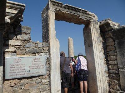 At Ephesus