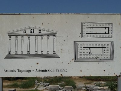 whatthe temple of Artemis originally looked like
