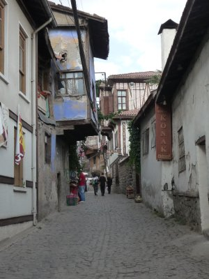 A typical street in Hisar