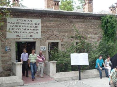the entrance to the Bazaar in Bursa