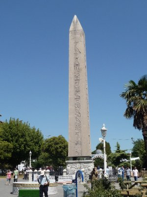 The Egyptian Obelisk - hippodrome