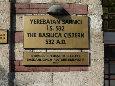 The Basillica Cistern