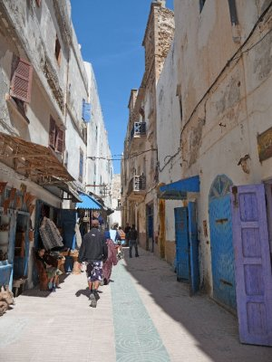 Alleys of the medina