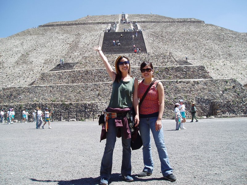 Teotihuacan (Pyramid of the Sun)
