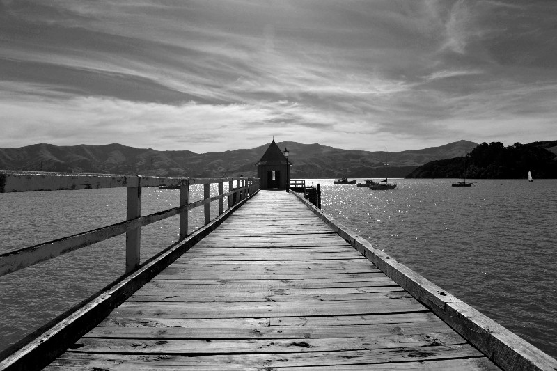 On The Waterfront Akaroa, New Zealand