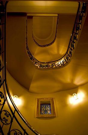 Krakow Hotel Stairwell