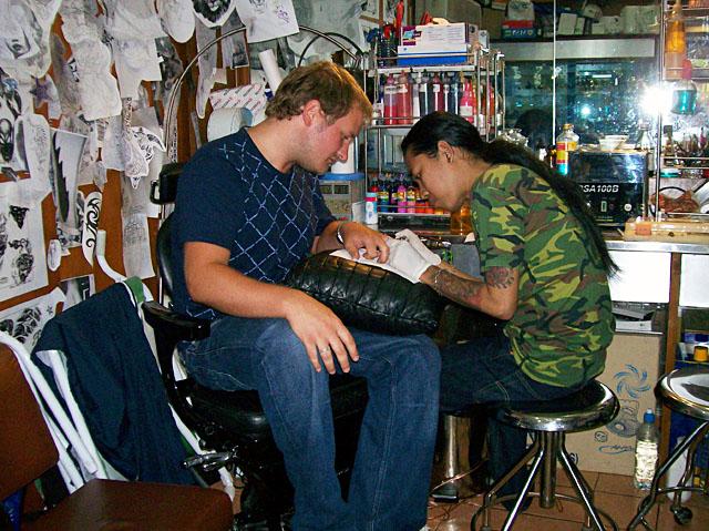 bangkok tattoo steve