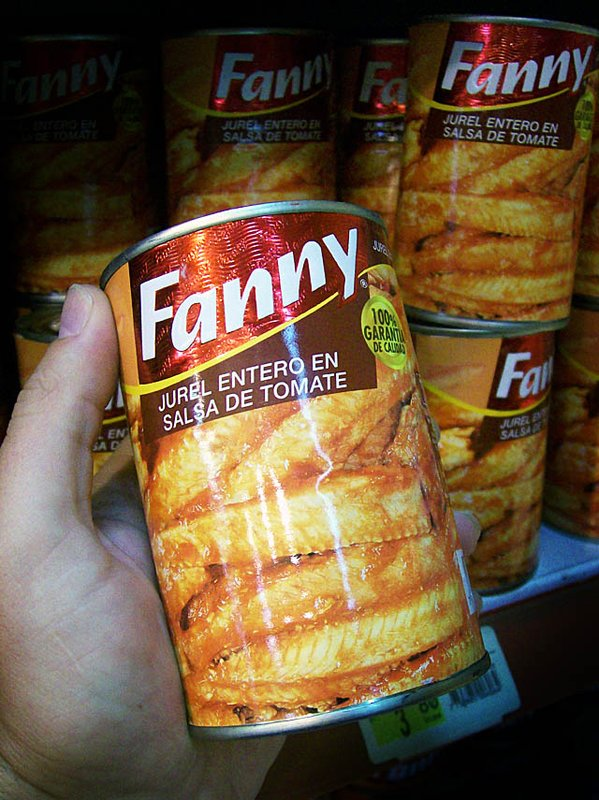 canned fanny peru
