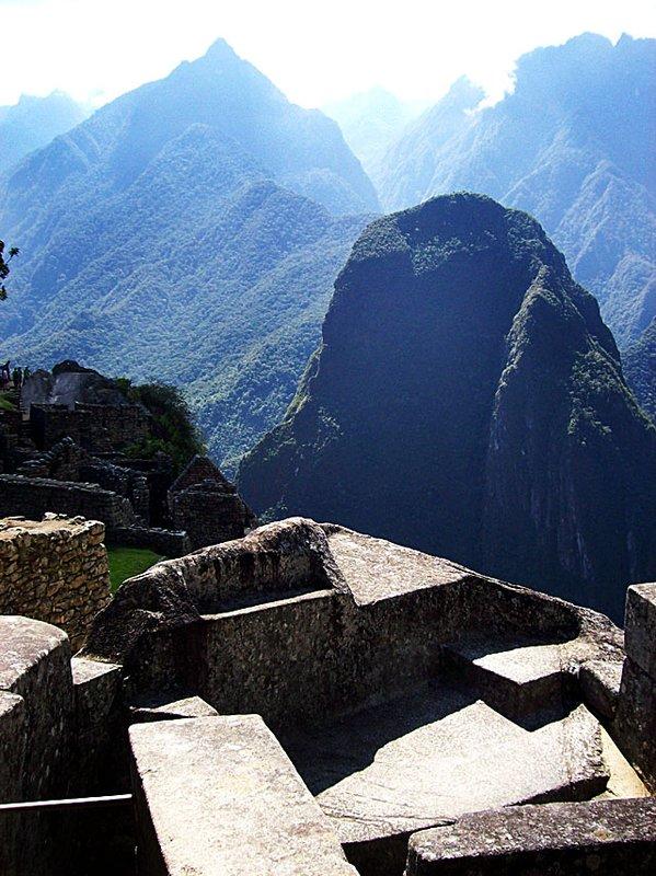Sun temple altar Macchu Picchu