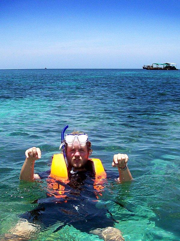 lipe steve snorkelling