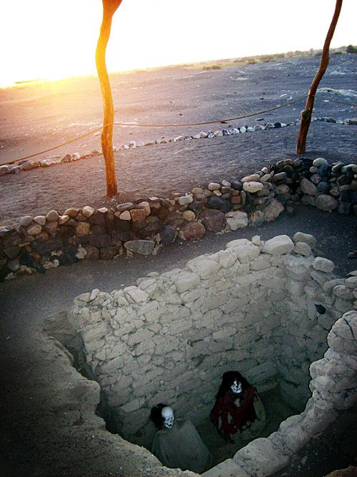 nazca desert graves