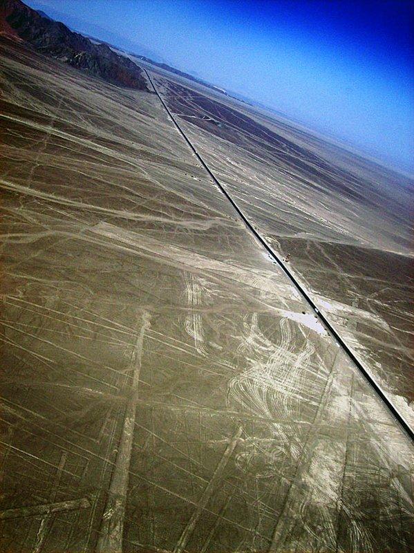 nazca lines panamerican highway