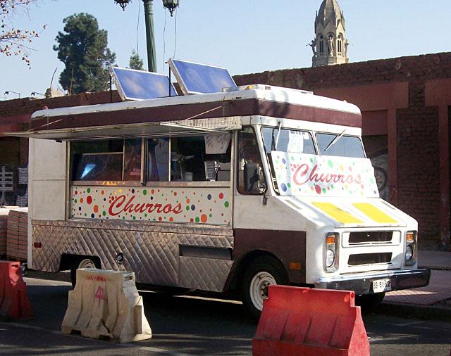 santiago ice cream van