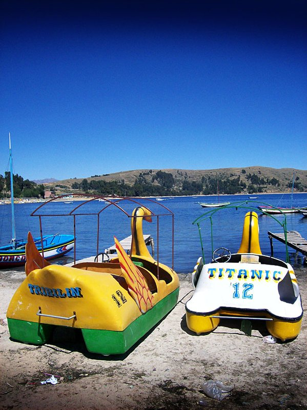 titicaca pedalos
