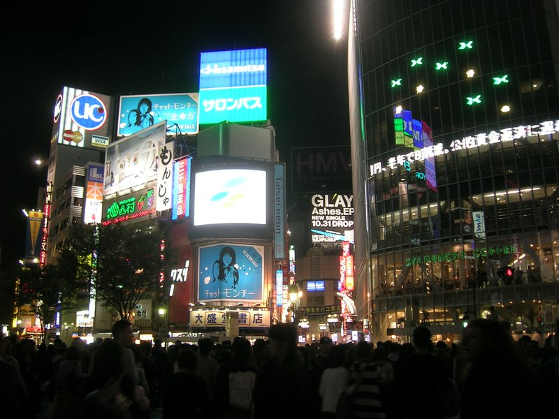 japan shibuya crossing