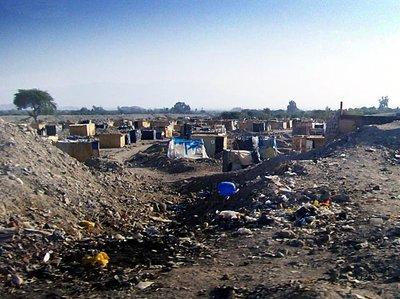 Nazca shantytown