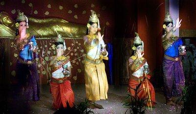 Siem Reap - Apsara dance