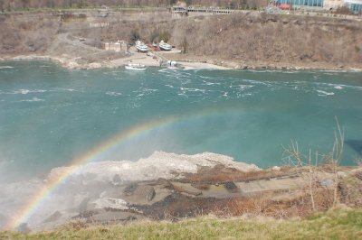 Rainbow at Niagara Falls