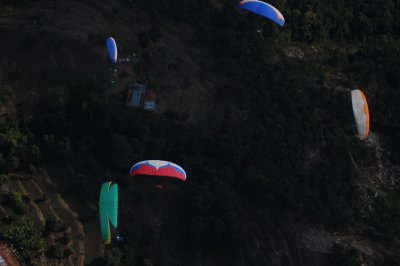 Paragliding in the Pokhara Valley