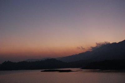 Sunset in Wayanad, Kerala