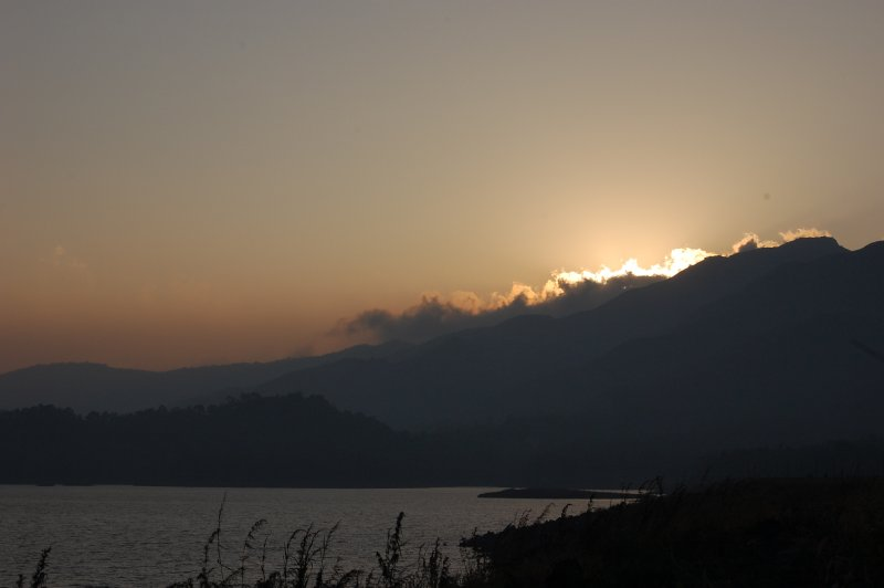 Sunset in Wayanad, India