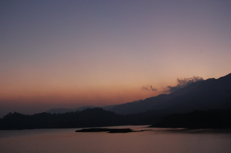 Sunset in Wayanad, Kerala