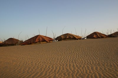 Tuareg camp