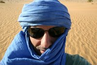 As a tuareg