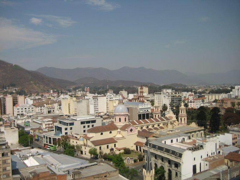 View of Salta
