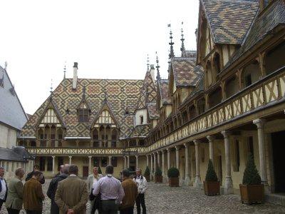 Medieval Hotel Dieu at Beaune