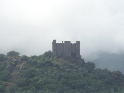 Roadside Castle Ruins