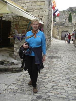 Celina at Les Baux de Provence
