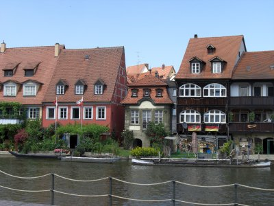 Bamberg and its canals