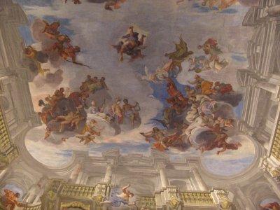 Frescoes Palais Liechstenstein