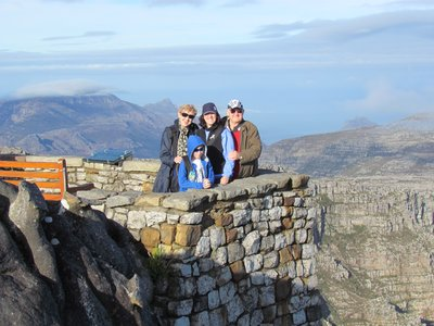 Rose Goodin Family on Table Mountain