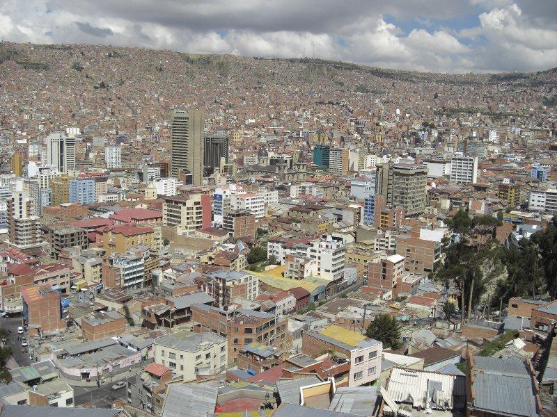 La Paz From Scenic Overlook