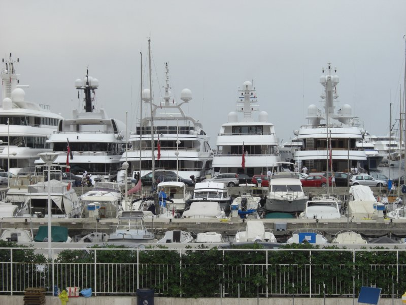 Super Yachts at Monaco