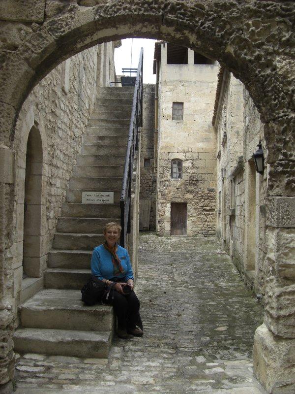 Celina at La Baux de Provence