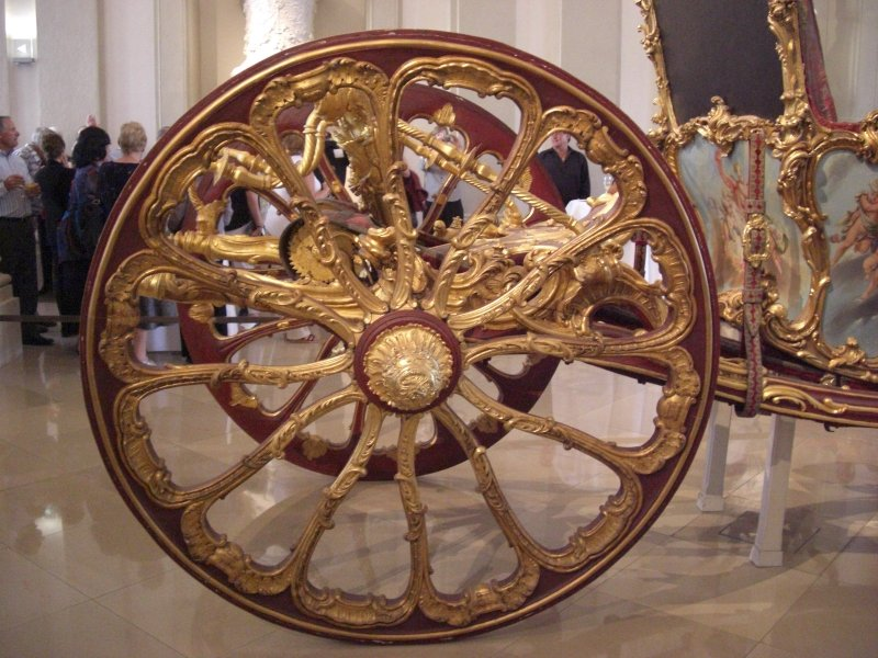 Marie-Antoinette's wedding carriage