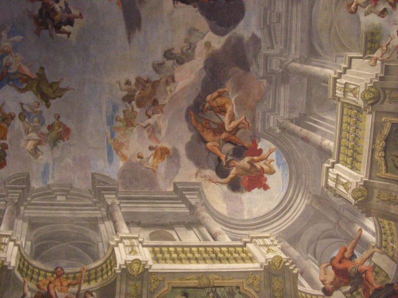 Frescoes at Palais Liechtenstein