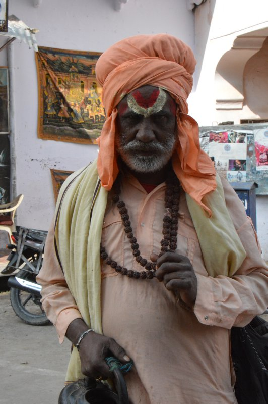 Holy Man in Pushkar